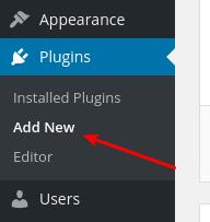 Wordpress Dashboard - Plugins - Add New