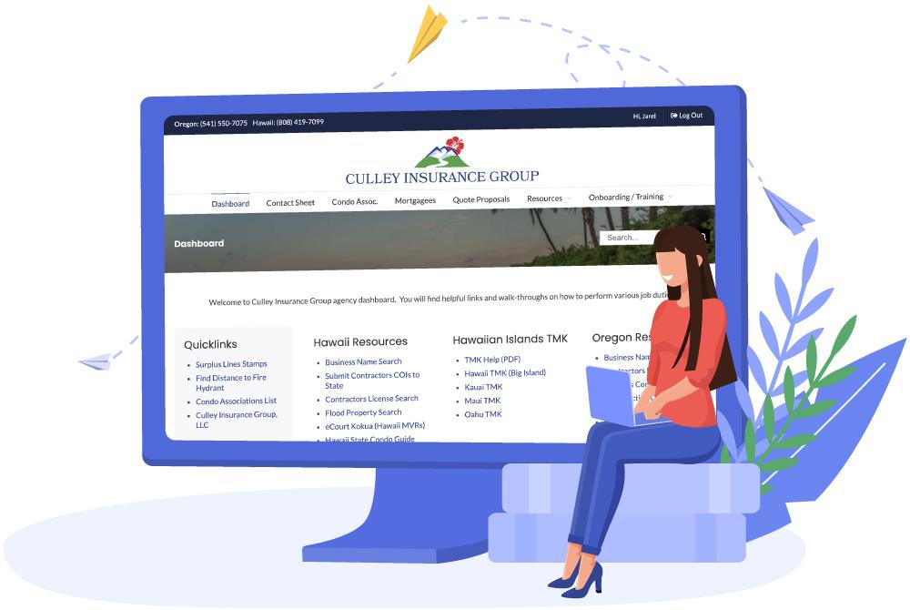 Agency Dashboard Website Screenshot by GravityCerts